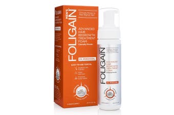 Foligain - Minoxidil 5% Hair Regrowth Foam For Men 3 Month Supply (177ml)