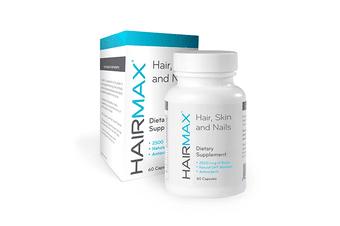 Hairmax - Hair, Skin & Nails, Hair Regrowth Supplements 60 Caps, Hair Loss Treatment