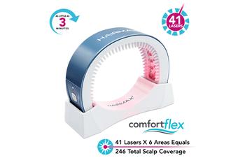 Hairmax - LaserBand 41 - Hair Growth Laser Band/Comb, Hair Loss Laser