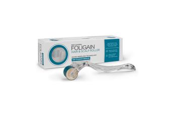 Foligain - Hair & Scalp Roller with 540 Titanium Needles, Micro-Needle Derma Roller
