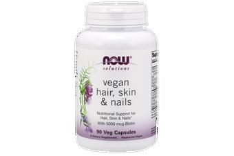 Now Foods - Hair, Skin & Nails, Vegan Veg Capsules