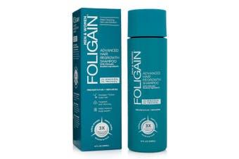 Foligain - Advanced Hair Regrowth Shampoo with 2% Minoxidil & 2% Trioxidil