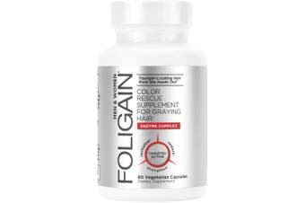 Foligain - Color Rescue Supplement For Graying Hair 60 Caps