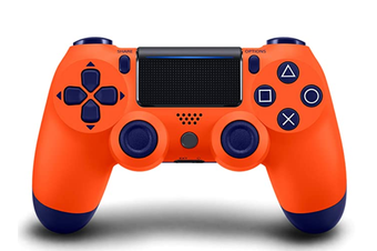 Double-Shock 4 Wireless-Controller for PS4 Controllers Orange