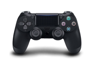 Double-Shock 4 Wireless-Controller for  PS4 Controllers Black