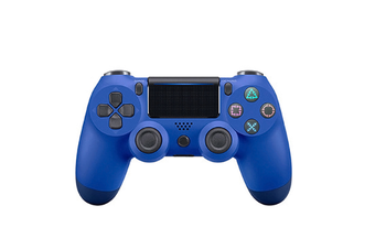 Double-Shock 4 Wireless-Controller for PS4 Controllers Blue