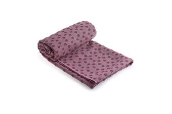 Microfiber Non Slip Yoga Mat Yoga Towel LightPurple