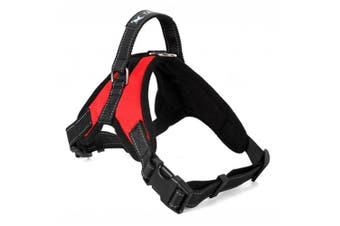 Adjustable Dog Breathable Walking Harness For Medium And Large Dogs L
