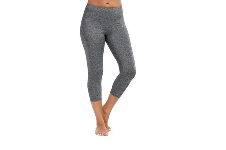 Women's 3/4 Length Yoga Capris Power Flex Running Pants Workout Leggings XL