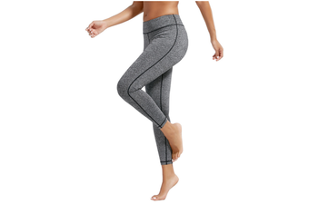 Women Power Flex Yoga Pants Workout Running Ankle Leggings XXL