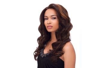 Women fashion Middle Length Hair Wigs 63
