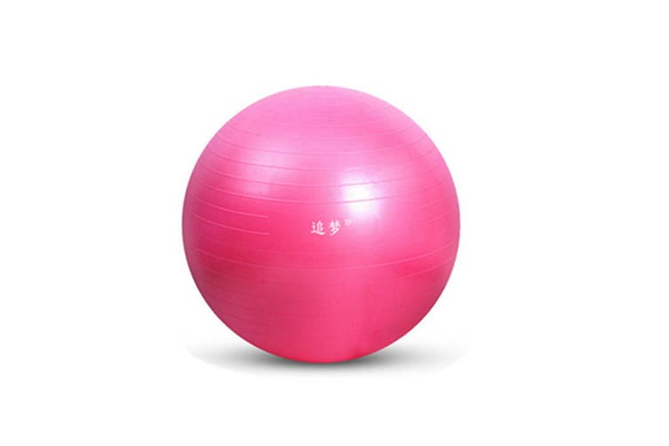 Yoga Balance Stability Swiss Ball for Fitness Exercise Training with Foot Pump 55cm