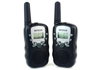 Retevis RT-388 22 Channel FRS/GMRS  Walkie Talkies for Kids Black