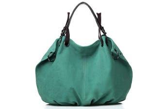Canvas Handbag In 11 Colors   LakeBlue