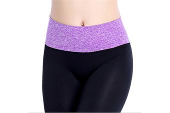 Womens Running Yoga Pants Workout Ninth Leggings L
