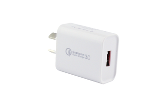 Quick Charge 3.0 with AU Plug Compatible with iPhoneXs/Xs Max/X /8 Plus/8/,iPad,iPod,Samsung ,HTC,Xiaomi,Huawei