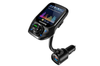 """Bluetooth FM Transmitter, Auto Scan Unused Station Bluetooth Radio Transmitter Adapter for Car with 1.8"""" Color Screen, QC 3.0, EQ Modes, Aux, Hands-Free Calls"""