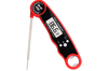 """Waterproof Digital Instant Read Meat Thermometer with 4.6"""" Folding Probe Calibration Function for Cooking Food Candy, BBQ Grill, Smokers"""
