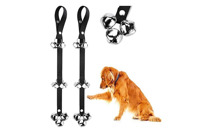 2 Pack Adjustable Dog Doorbellsfor Potty Training Your Puppy