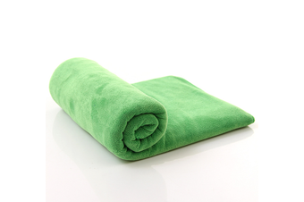 Large Size Microfiber Car Cleaning Towel Cloth Multifunctional Wash Washing Drying Cloths 60*160 Green