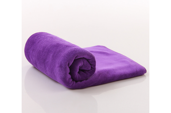 Large Size Microfiber Car Cleaning Towel Cloth Multifunctional Wash Washing Drying Cloths 60*160 Purple