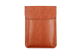 """15""""Synthetic Leather Laptop Sleeve forMacBookAir/Pro"""