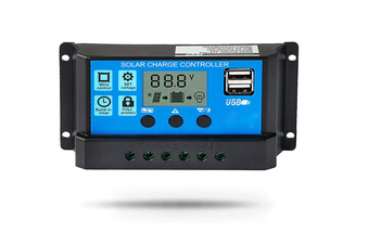 30A Solar Charge Controller 12V/24V Auto, Solar Panel Battery Controller