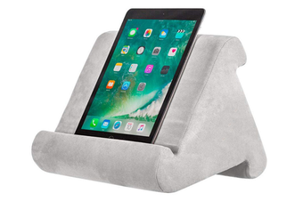 Tablet Pillow Stand, Triangular Tablet Sofa EReader Stand Reading Pillows for Tablet Phone, 27x25x23cm