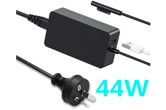 Surface Pro Charger 44W 15V 2.58A Power Supply Compatible Microsoft Surface Pro 5 Pro 6 Surface Laptop Surface Go&Surface Book 1 and 2 with 5V USB Charging Port