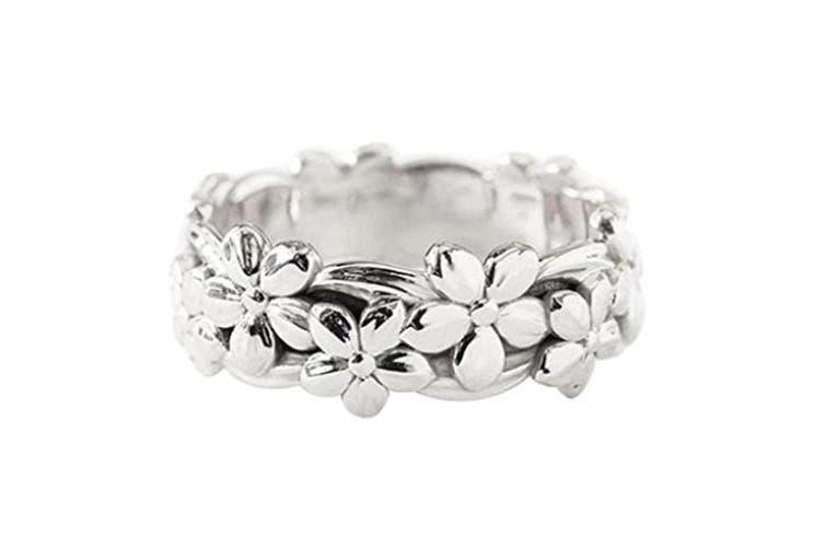 Fashionable Plum Blossom Flower Ring
