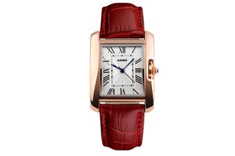 Womens Analog Quartz Wristwatch Roman Numeral Business Casual Watch