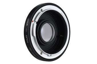 FD-EOS Lens Mount Adapter black