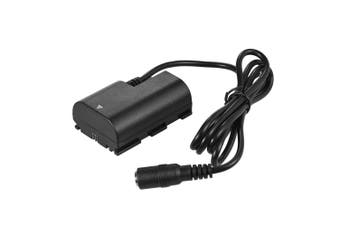Andoer LP-E6 Fully Decoded Dummy Battery DC Coupler Connector for Canon DSLR Camera
