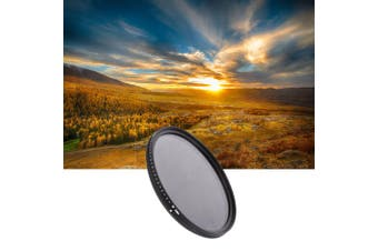 Fotga 72mm Slim Fader ND Filter Adjustable Variable Neutral Density ND2 to ND400 for Canon Nikon 18-200 Canon 18-85