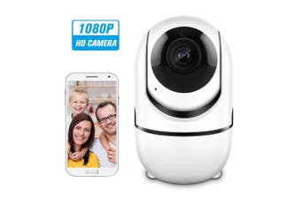 Home Security WIFI Camera 1080P Wireless IP Camera with 16G Sd card - white