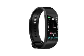 RD11 Smart Bracelet 1.14 inch Sports Bracelet with Heart Rate Blood Pressure Blood Oxygen Monitoring IP67 Waterproof Black black