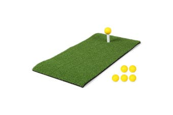 24x12IN Residential Golf Hitting Mat green
