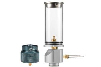 Outdoor Gas Lantern Camping Lamp Light silver2