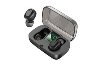TWS Bluetooth Noise Cancelling Earphones-black