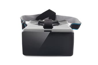 Portable 3D VR Glasses with Sucking Disk for Smart Phones with the Size Up to 5.5 in-black
