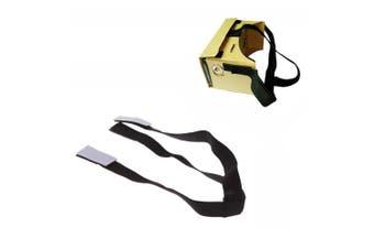Detachable Elastic Adjustable Head Mount Strap Belt for Google Cardboard Virtual Reality VR 3D Glasses
