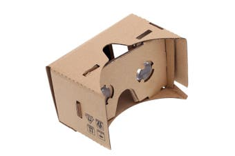 DIY Google Cardboard Virtual Reality VR Mobile Phone 3D Viewing Glasses for 4.5\