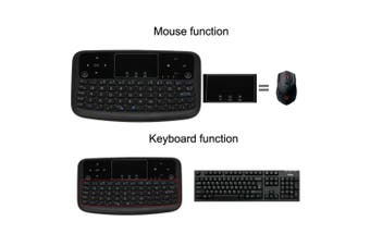 A36 Mini Wireless Keyboard 2.4GHz Air Mouse Touchpad Keyboard for Android TV BOX Smart TV PC Notebook