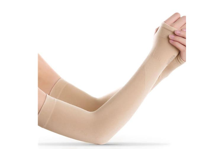 Protective Gloves UV Protection Cooling or Warmer Arm Sleeves Nude