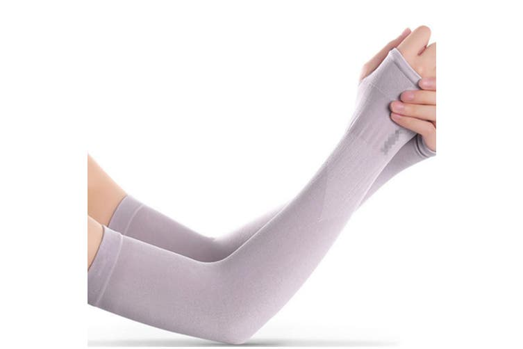 Protective Gloves UV Protection Cooling or Warmer Arm Sleeves Purple
