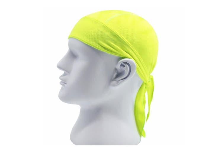 Outdoor Quick-dry Bandana Adjustable Breathable Head Wrap Beanie Green
