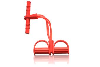 Sit-up Bodybuilding Expander Multifunction Leg Exerciser Pull Rope Orange