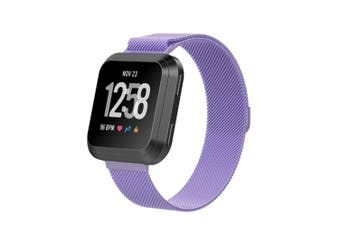 Milanese Loop Stainless Steel Replacement Bracelet for Fitbit Versa Large
