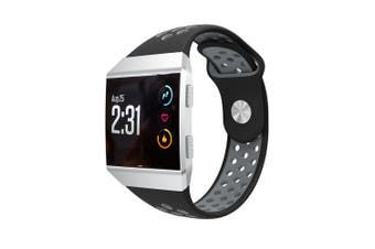 Bands Replacement for Fitbit Ionic Soft Silicone Sport L