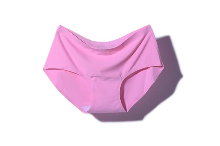 Women's Seamless Hipster Panties Invisible Briefs M